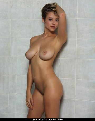 Sabrina Nichole - Good-Looking American Playboy Doxy with Good-Looking Bare Natural Soft Tots (Sexual Photo)