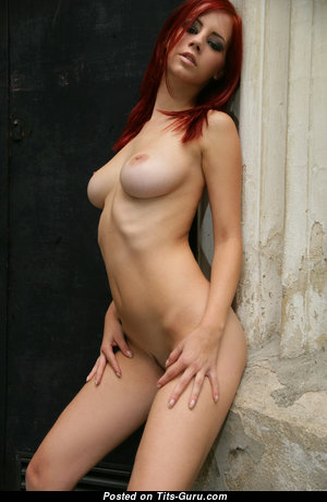 Ariel Piper Fawn - Perfect Czech Red Hair Babe & Pornstar with Perfect Nude Real Tight Chest & Long Nipples (Hd Sex Picture)