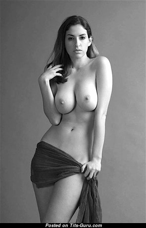 Assanta S. - Hot Glamour Nude Brunette with Erect Nipples (Hd Sexual Picture)
