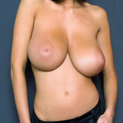 Brunette with big natural tittys image