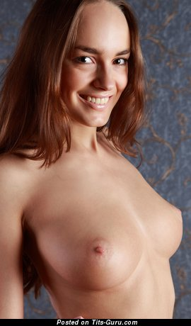Anabelle - Awesome Russian Dish with Awesome Bare Natural Dd Size Jugs (Hd 18+ Photoshoot)
