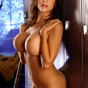Erika Michelle Berre - brunette with medium tittys image