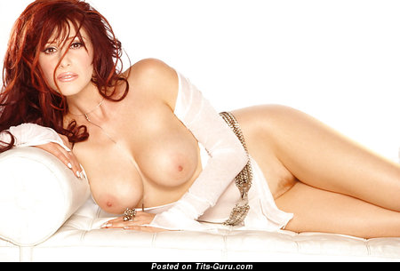 Image. Tiffany - sexy naked red hair with medium natural tits vintage
