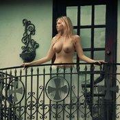 Wonderful girl with big boobs image