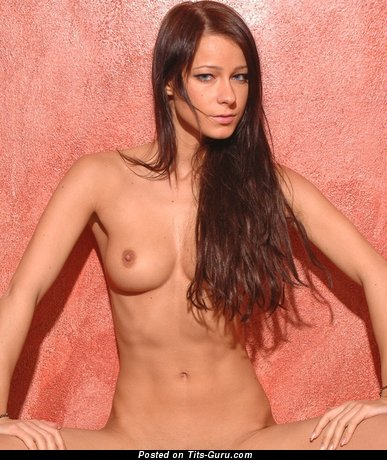 Image. Nude wonderful girl with medium natural tits picture