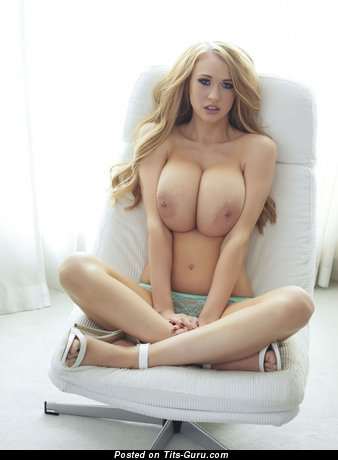 Sophie Reade - naked blonde with big tots and big nipples image