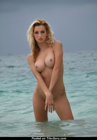 Handsome Nude Blonde (Hd Sexual Pic)
