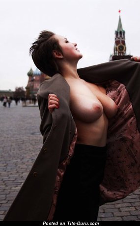 Image. Nude awesome lady with big natural boobs photo