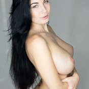 Wonderful girl with big natural boob photo