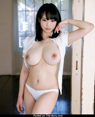 Akane Yoshinaga - Superb Topless Asian Babe with Superb Open Real Firm Tits (Sex Pix)