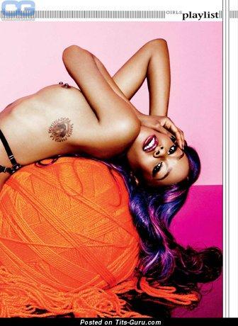 Azealia Banks - sexy nude hot girl photo