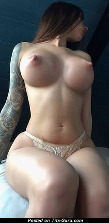 Marvelous Babe with Marvelous Exposed Fake Knockers (Hd Sex Image)