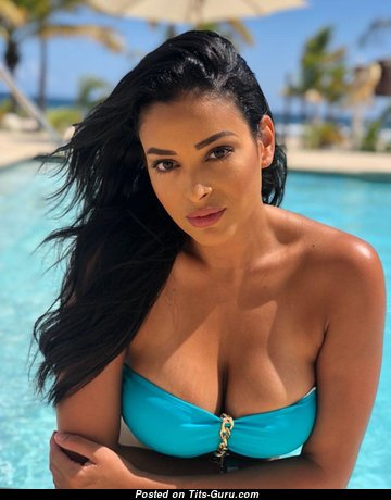 Geisha Montes - Gorgeous Non-Nude Latina Brunette Actress & Babe with Gorgeous Natural Mid Size Tittes in Bikini (Hd 18+ Picture)