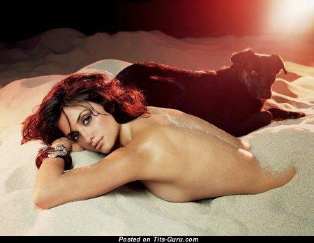 Penelope Cruz - Delightful Spanish Brunette Babe with Delightful Bare Natural D Size Tittys (Hd Porn Foto)
