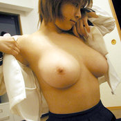 Hot woman with big breast picture