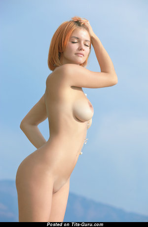 Image. Violla A - nude red hair with medium natural tots image