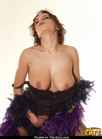 Eva Svobodova - Yummy Red Hair with Yummy Bald Sizable Busts (Sex Pic)