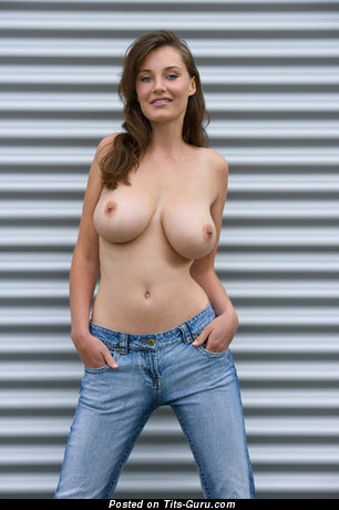 Ashley Spring - Pleasing German Girl with Pleasing Defenseless Real Substantial Busts (18+ Picture)