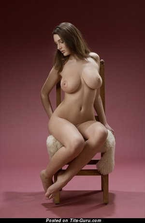 Image. Ashley - naked brunette with big natural boobies picture