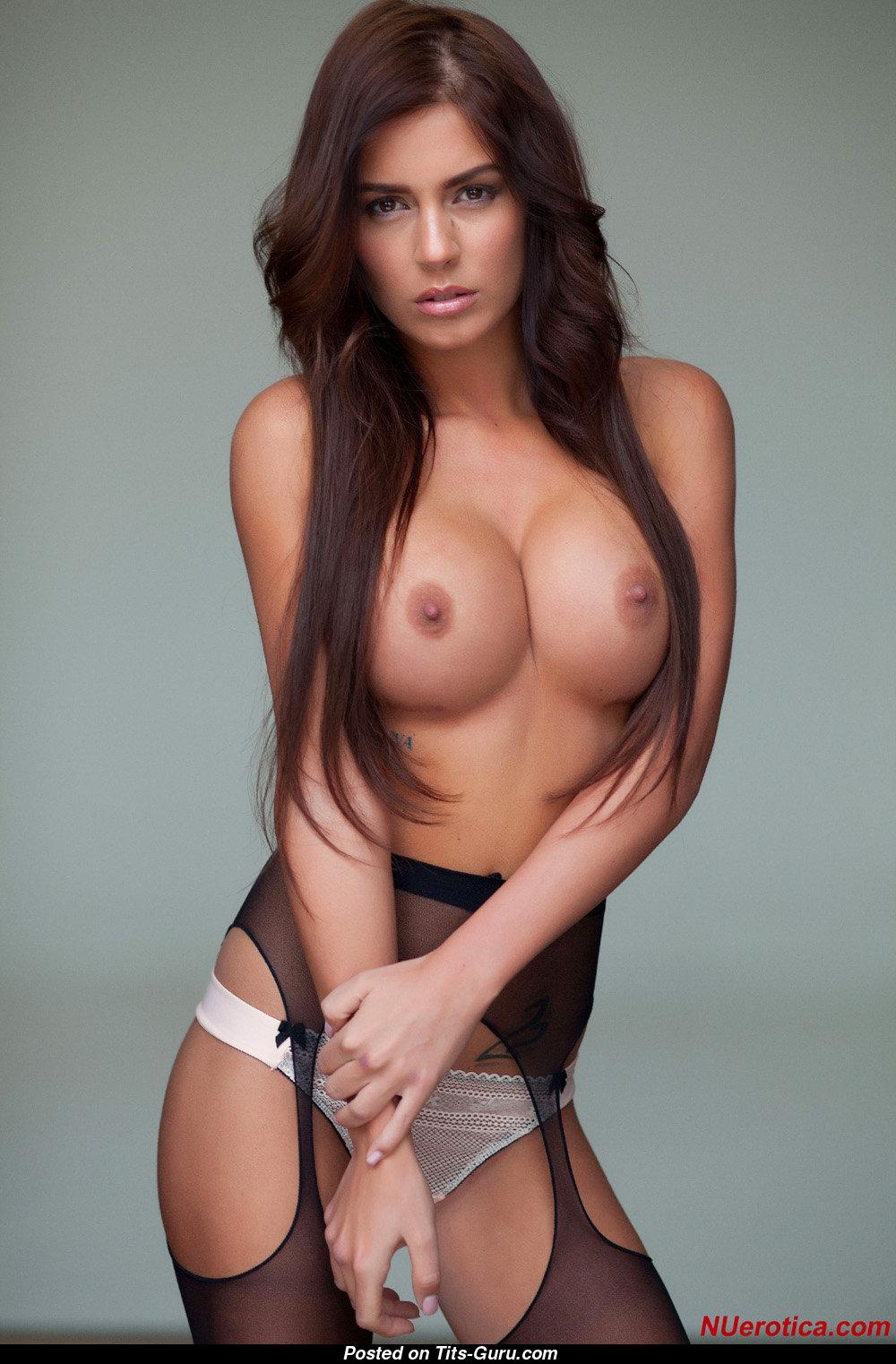 Alexa Varga - Naked Brunette With Big Fake Boobs Image -1611