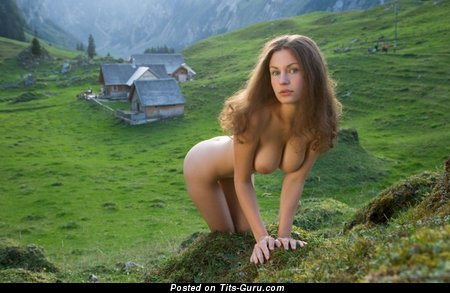 Image. Beautiful lady with big natural tittes image