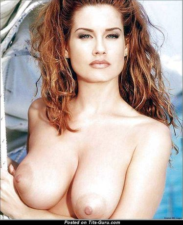 Carrie Stevens - Stunning Topless American Playboy Red Hair with Stunning Nude Real Average Hooters (Sex Image)