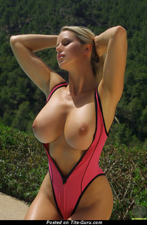 Sexy nude hot lady with big tits photo