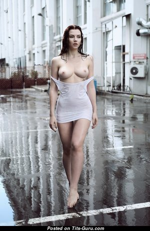Magnificent Topless Woman with Magnificent Bald Real D Size Knockers (Hd Xxx Photoshoot)