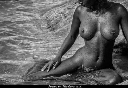 Image. Shasta Wonder - nude ebony image