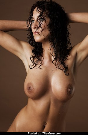 Leila - Good-Looking Brunette Babe with Good-Looking Bare Natural Medium Boob (4k Xxx Pic)