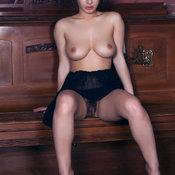 Lubachka - awesome female with medium natural tittys image