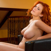 Lilliyth Von Titz Aka Slavka Solnechnaya - red hair with big natural breast picture