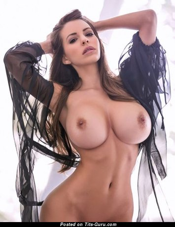 Image. Sexy naked hot girl with big fake boobs image
