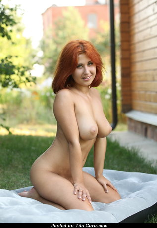Image. Wonderful female with big natural boobies pic