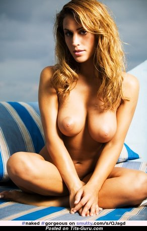 Yummy Babe with Yummy Defenseless Real Soft Boobys (Sexual Image)