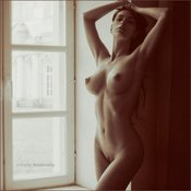 Sexy topless amateur hot girl image