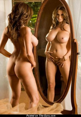 Image. Naked amazing girl with huge natural boobs picture