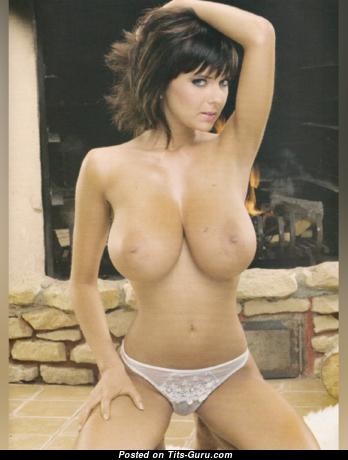 Gabriella Hunter - Charming Playboy Skirt with Charming Open Soft Tittes (18+ Pic)