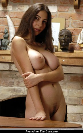 Angela - Handsome Brunette Babe with Handsome Open Real Firm Tittys (Hd Xxx Picture)