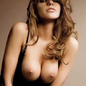 Triana Iglesias - topless red hair with big natural tittes photo