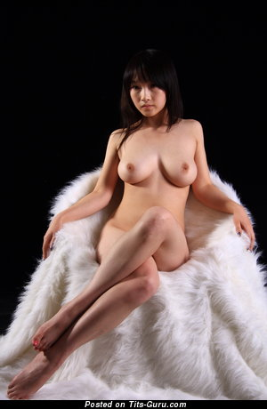 Image. Naked asian with big natural boob picture