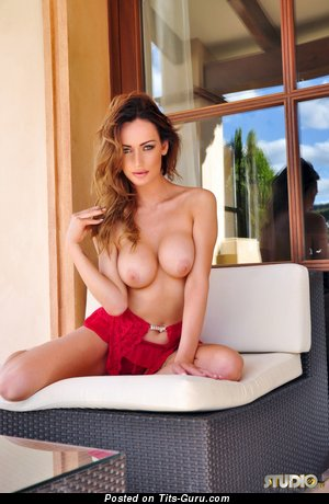 Daisy Muller - Delightful Doll with Delightful Naked Fake Firm Titties (Hd Sexual Foto)