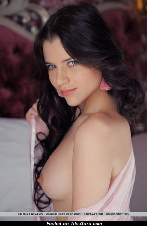 Delightful Undressed Brunette (Sex Photoshoot)