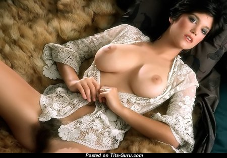 Lovely Babe with Lovely Open Real Mid Size Busts (Vintage 18+ Image)