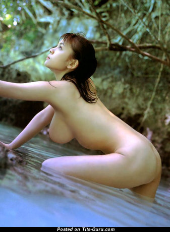 Awesome Unclothed Asian Lassie (Xxx Wallpaper)