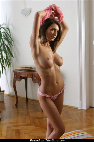 Image. Brunette with big breast pic