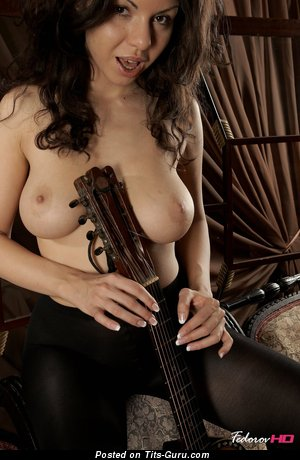 Image. Christina Schmidt - nude hot lady with medium tits photo