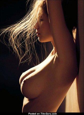 Karolina Szymczak - Lovely Polish Babe with Stunning Exposed Real D Size Tittes (Hd Porn Photo)