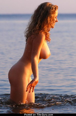 Image. Naked amazing lady with big breast photo