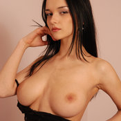 Jenya D - amazing woman with big natural breast photo